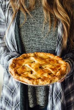 caramel apple pie, thanksgiving, fork to belly