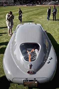 1942 Alfa Romeo 6C 2500 SS Berlinetta Aerodynamica | repinned by www.BlickeDeeler.de
