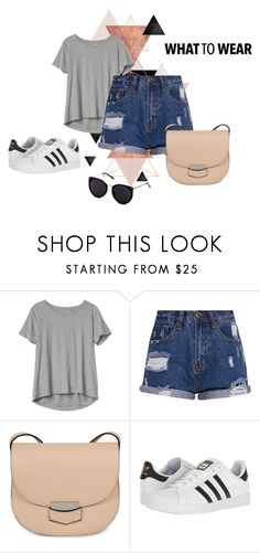 """""""What to wear"""" by tsaniaardhani on Polyvore featuring Gap, CÉLINE and adidas"""