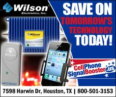 Wilson 460103 DB Pro 4G Quint-Band Repeater Kit with Surge Kit. - Cell Phone Signal Booster by weBoost / Wilson Electronics