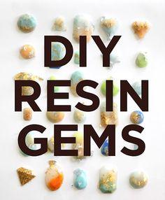 hello, whimsy.: DIY: RESIN GEMS PART 1