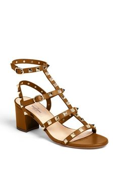 Valentino 'Rockstud' Sandal available at #Nordstrom