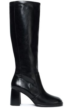Black Moroder glossed-leather boots   Sale up to 70% off   THE OUTNET   JOSEPH   THE OUTNET