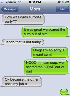 Sounds like Dad had a great time. | 24 Texts You Don't Want To Get From YourParents