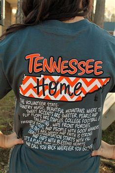 Tennessee Tee $19.99 #SouthernFriedChics