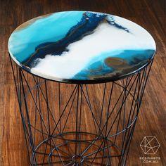 Adélie Side Table | Home Decor | Oraco Resin Arts