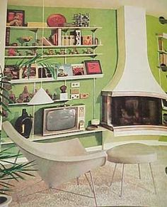 1968 MID CENTURY MODERN Mod Decorating book Better Homes Gardens 400 pg. $39.99, via Etsy.