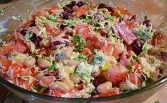Šaláty Archives - Page 3 of 8 - Báječné recepty Top Salad Recipe, Salad Recipes, Gourmet Cooking, Cooking Recipes, Good Food, Yummy Food, Russian Recipes, Bean Salad, Easy Salads