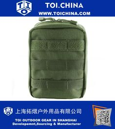 Tactical MOLLE EMT Medical First Aid Utility Pouch Bag, TY-EM012