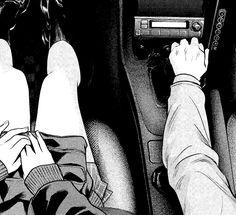 image from a manga Old Anime, Dark Anime, Anime Art, Dark Instagram, Anime Monochrome, Romantic Manga, Gothic Anime, Black And White Aesthetic, Manga Covers