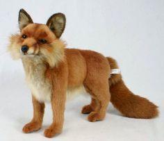 HANSA Plush Red Fox Standing 4699 Medium Portraits of Nature Realistic Stuffed