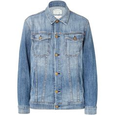 Current/Elliott Oversized Jean Jacket ($250) ❤ liked on Polyvore featuring outerwear, jackets, coats & jackets, blue, coats, oversized jacket, blue jean jacket, oversized jean jacket, denim jacket and current elliott jacket