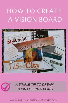 Make a vision board; it is a simple process. Remember, simple does not necessarily mean easy. Check this few tools for a great manifestation! Shaman Woman, Creating A Vision Board, The Right Stuff, Light Of Life, Soul Searching, Subconscious Mind, Online Courses, Healthy Habits, How To Fall Asleep