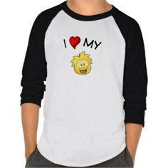 I Love My Golden Puffle Shirts