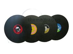 Hanging Records Reference: REC789 Material: Wood Quantity: 4 Height: 0.6m Width: 0.6m Depth: 0.05m Weight: 6kg Info: