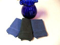 Dish Cloths Knit in Cotton in Country and by TheNeedleHouse, $12.00