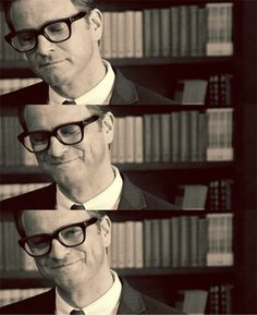 camille reads: When Colin Firth Smiles...