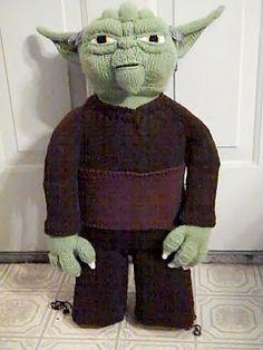 Life Like Yoda Doll -- Star Wars knitting patterns!!!!!