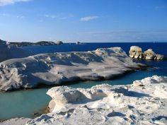 Sarakiniko beach , Milos