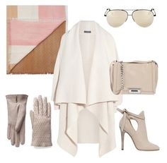Nude chic by stefania-fornoni on Polyvore featuring polyvore, fashion, style, Alexander McQueen, Jimmy Choo, Gianvito Rossi, Gucci and Victoria Beckham
