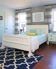 Master Bedroom Reveal #TriplePFeature