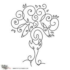 Tattoo of Tree turtle, Family tattoo - custom tattoo designs on TattooTribes.com