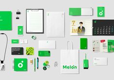 MelOn, Rebranding by Daylight Design - Lee June Hyeong - Medium Corporate Identity Design, Brand Identity Design, Graphic Design Branding, Stationery Design, Packaging Design, Logo Design, Ci Design, Paper Design, Layout Design