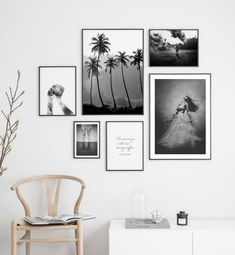 Gallery wall black and white photo art - Wall art with beautiful posters and art prints - Find inspiration for your personal wall art with posters & art prints from Posterstore.se Spice up your living room or bedroom. Inspiration Wand, Interior Inspiration, Black And White Photo Wall, Photo Wall Decor, Poster Store, Living Room Art, Living Room Prints, Living Room Photos, Bedroom Prints