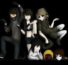 awesome creepypastas | Via Ben Drowned