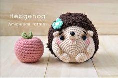 Mesmerizing Crochet an Amigurumi Rabbit Ideas. Lovely Crochet an Amigurumi Rabbit Ideas. Crochet Gratis, Crochet Diy, Crochet Patterns Amigurumi, Love Crochet, Crochet For Kids, Crochet Dolls, Tutorial Crochet, Crochet Hedgehog, Baby Hedgehog