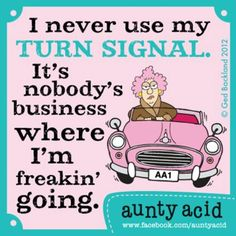 SAYS most drivers around me.