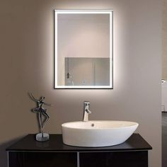 10 top 10 best lighted bathroom wall mirrors in 2018 images rh pinterest com