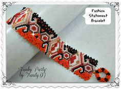 GEO-066a Funky Party Odd Count Peyote by TrinityDJBoutique
