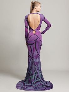 Emilio Pucci  Open Back Jersey Gown - Another Sexy not slutty statement gown!