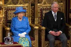 Prince Charles Photos Photos - Queen Elizabeth II and Prince Charles, Prince of Wales attend the State Opening Of Parliament in the House of Lords at the Palace of Westminster on June 21, 2017 in London, England. This year saw a scaled-back State opening of Parliament Ceremony with the Queen arriving by car rather than carriage and not wearing the Imperial State Crown or the Robes of State. - The State Opening Of Parliament 2017