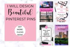 Ciara is a Travel Blogger and Pinterest VA who knows how valuable Pinteresting Marketing and Pin design can be for any business. Let her help you with growing your Pinterest account with beautiful, stylish pins that will have people clicking straight through to your website. (affiliate) #pinterestpindesign, #pinterestmarketing, #fiverr