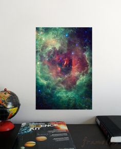 The Tortured Clouds of Eta Carinae x Poster - Science Astronomy Wall Art - Window on the Universe series Rosettes, Landscape Photography, Unicorn, Astronomy Posters, Clouds, Wall Art, Deco, Handmade Gifts, Artist
