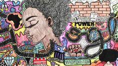 2016 winning student Google Doodle: Akilah Johnson's My Afrocentric Life