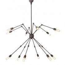 Eichholtz Spider Novelty Chandelier - All About Decoration Ceiling Light Design, Ceiling Lamp, Ceiling Lights, Bronze, Hanging Lanterns, Chandelier Lighting, Chandeliers, Mirror With Lights, Hygge
