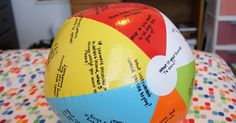 More than Elementary: Getting to Know You Activity with a Beach Ball!