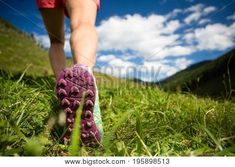 Woman hiking in mountains, adventure and travel by blas. Woman walking in mountains in sport hiking shoes. Jogging, trekking, hiking or training outside in summer nature. Autonomic Nervous System, Chronic Pain, Chronic Illness, Hiking Shoes, Pain Relief, Jogging, Health Fitness, Vogue, Adventure