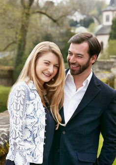 HRH The Hereditary Grand Duke, Guillaume, is engaged to his Belgian girlfriend, Comtesse Stéphanie de Lannoy
