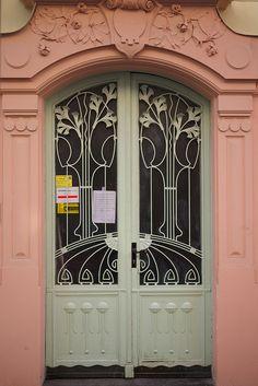 Art Nouveau doorway | Flickr