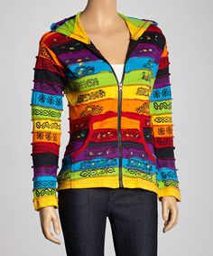 Look at this Rising International Rainbow Zip-Up Hoodie on today! Pretty Outfits, Cool Outfits, Gay Outfit, Cosplay Outfits, Sweater Hoodie, Sweatshirt, Types Of Fashion Styles, Look Fashion, Toddler Girl