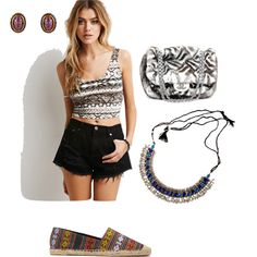 Tribal Set. by sarahhart12994 on Polyvore featuring Forever 21 and Biltmore
