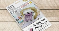 Couture Creations: An Introduction to the Magnetic Platform Embossing Folder, Creative Inspiration, Craft Stores, Doilies, Card Stock, Magnets, Couture, Tools, Elegant