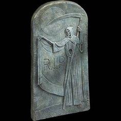 Grim Reaper Halloween Tombstone | MostlyDead.com