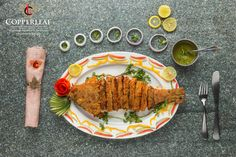 Copperleaf restaurant specializes in seafood, Goan, Indian, Chinese, Tandoor and Bengali cuisines.