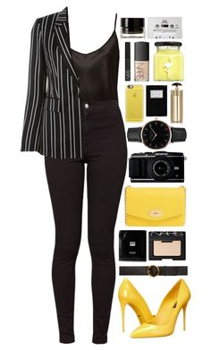 """""""Back To Yellow"""" by ellac9914 ❤ liked on Polyvore featuring La Perla, American Apparel, Givenchy, Dolce&Gabbana, Mulberry, Erno Laszlo, STELLA McCARTNEY, Topshop, NARS Cosmetics and Prada"""