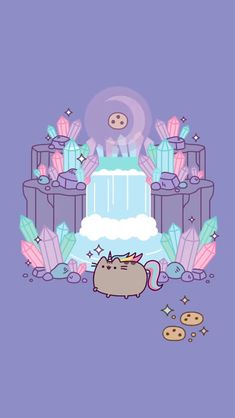 Crystal moon pusheenYou can find Pusheen and more on our website. Wallpaper Free, Cat Wallpaper, Kawaii Wallpaper, Cute Wallpaper Backgrounds, Wallpaper Iphone Cute, Cute Cartoon Wallpapers, Trendy Wallpaper, Chat Kawaii, Kawaii Cute